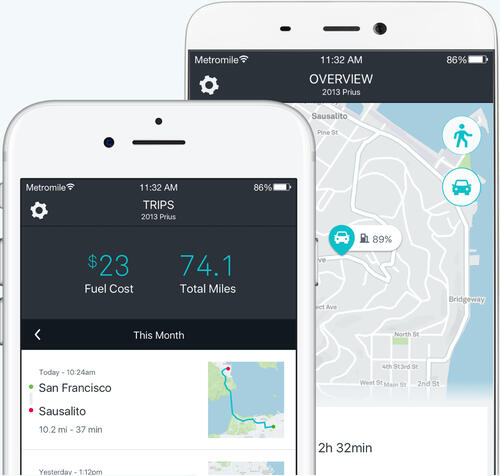 Metromile iOS and Android App