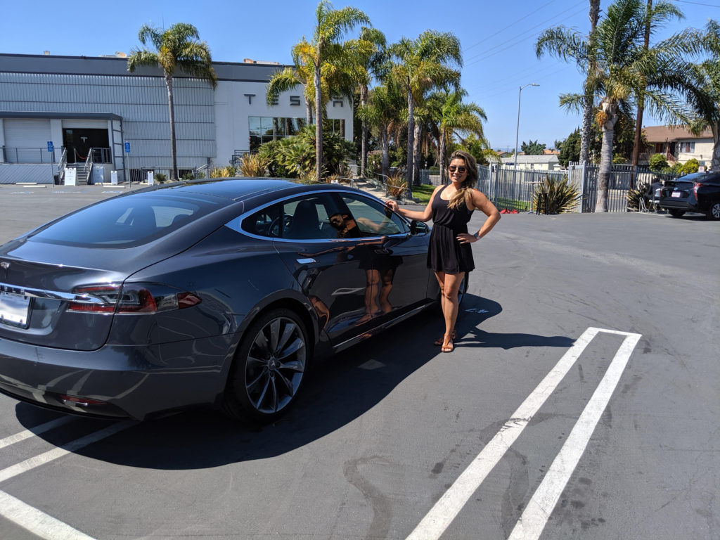 Julie S. shares a Tesla Model S and Tesla Model X on Turo. She covers both cars with Metromile and claims to save 80% on her car insurance bill.