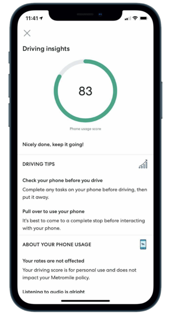 Metromile's Driving Insights
